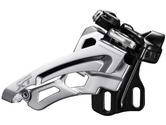 Shimano Deore XT FD-M8000 Umwerfer 3x11 Direktmontage tief Front-Pull 66-69° 40 Zähne